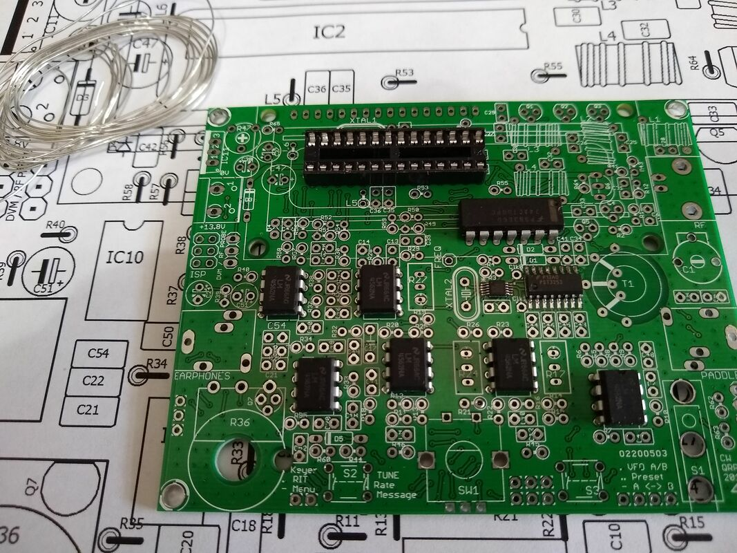 QRPLabs QCX Transceiver - Martin's Site
